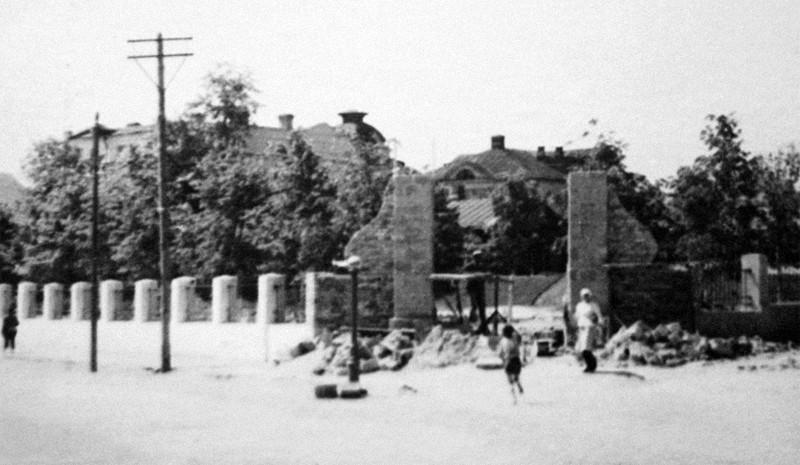Калуга, Карповский сквер после войны