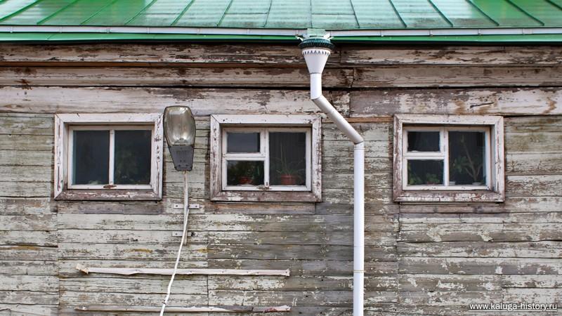 окна дома польман, калуга