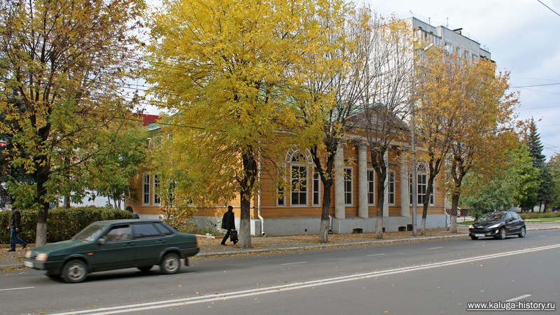 Ккалуга, улица ленина, дом польман
