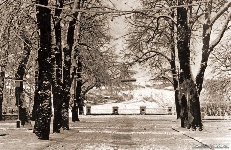 калужский парк, смотровая площадка, зимняя калуга