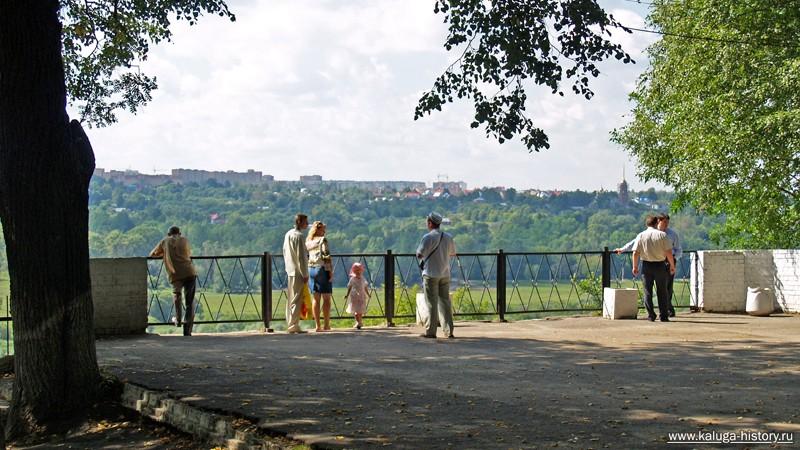 смотровая площадка, 2006, калуга, парк