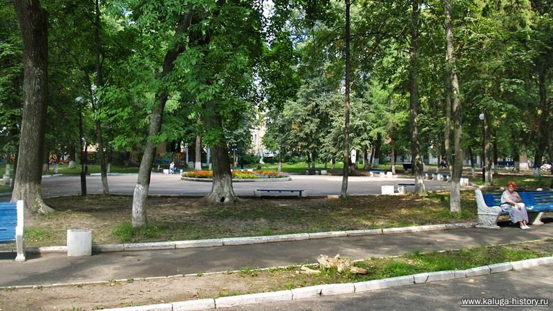 калуга, парк имени культуры и отдыха