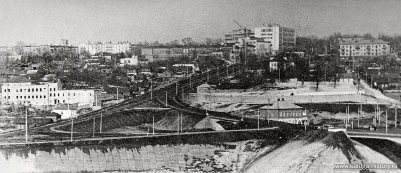 Калуга, строительство моста через оку