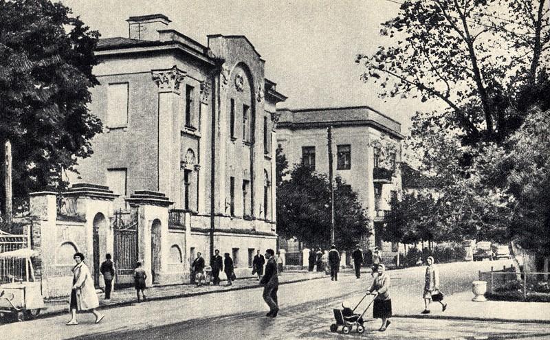 калуга, уголок площади имени Маркса, 1960-й год