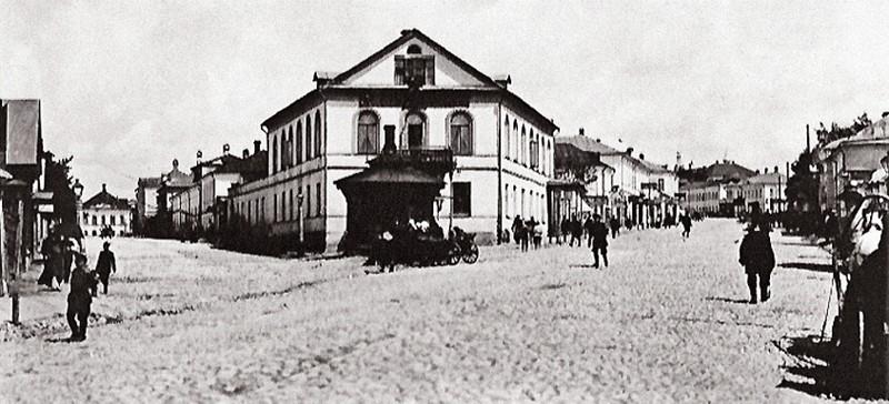 Дом Осипа Сорокина с аптекой, аптека №2 калуга, аптека на стрелке, театральная улица